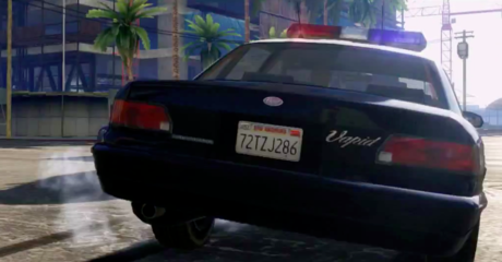 GTA 5 SAMOCHÓD POLICYJNY