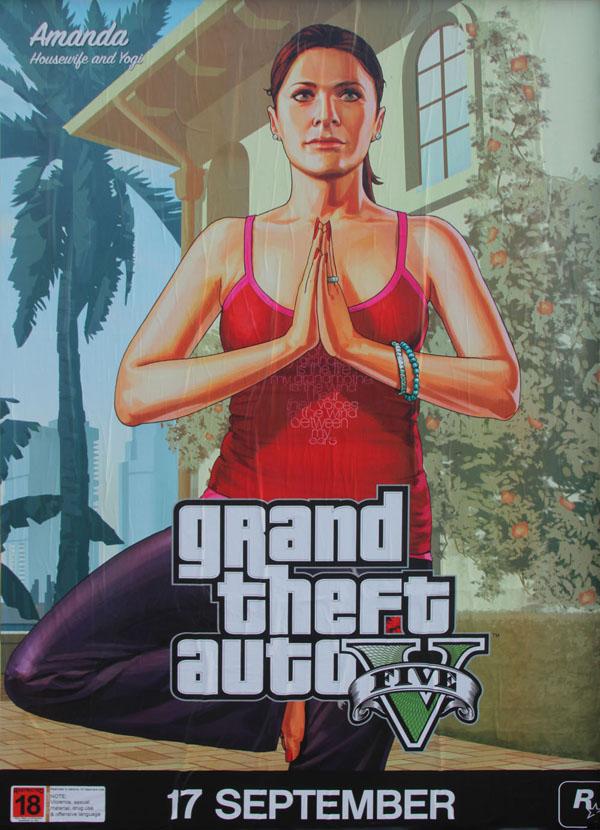 amanda GTA 5