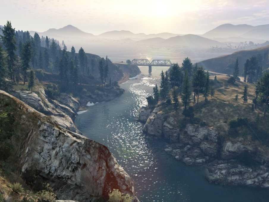 GTA 5 Krajobrazy