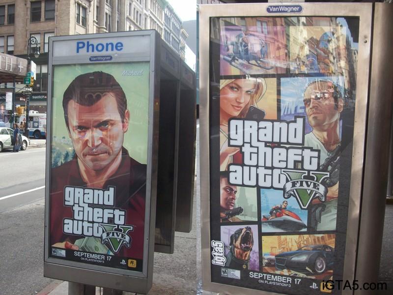 GTA 5 REKLAMY NOWY JORK