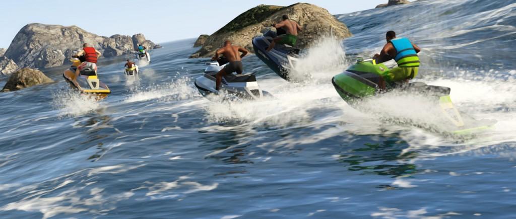 Sporty wodne Gta5