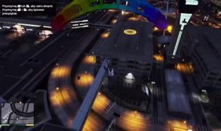 Skok ze spadochronem gta 5